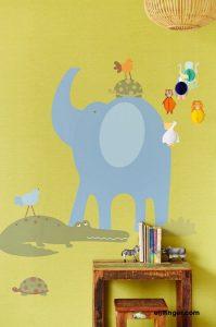 מדבקת קיר לחדר הילדים